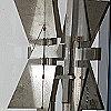 """Stahlkoloß """"Ortnung"""" Modell - Original 10 m hoch"""