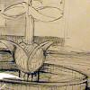 Entwurf für den Brunnen auf dem Marktplatz - von Vitali Maier